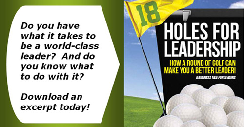 Download an excerpt of 18 Holes for Leadership